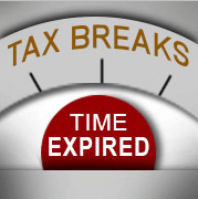Tax Breaks Time Expired